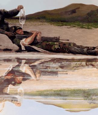 About Military Artist Todd Krasovetz