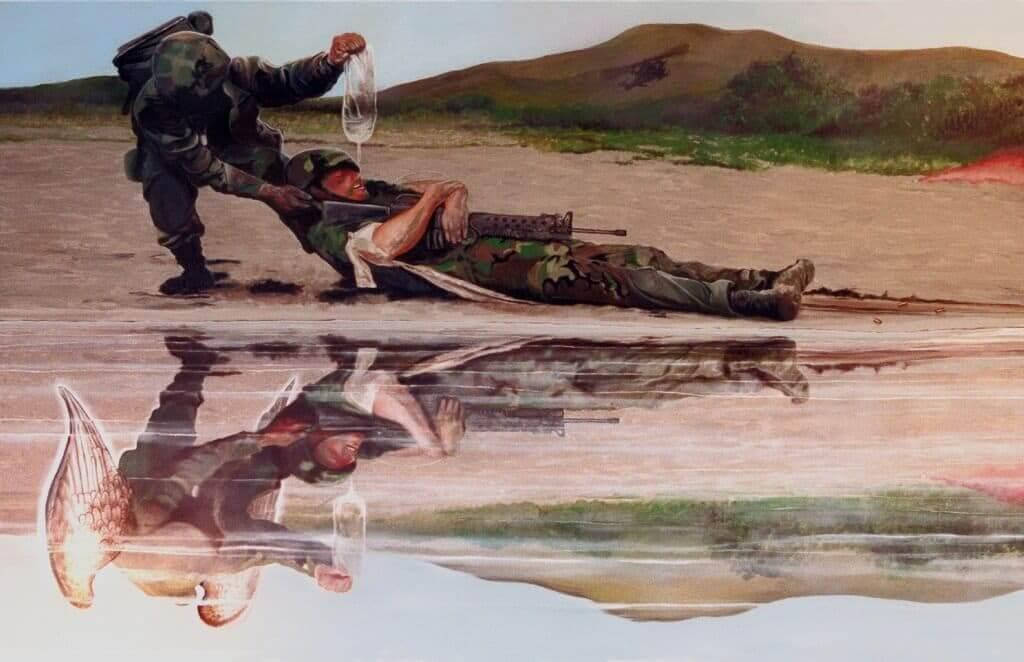 Military art by Artist Todd Krasovetz