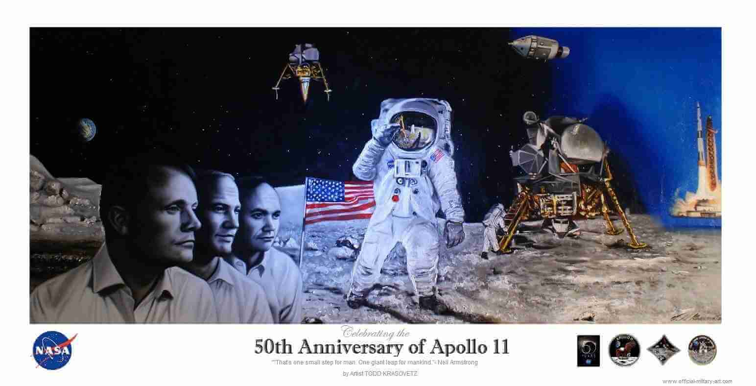 NASA Approved 50th Anniversary Of The Apollo 11 Mission